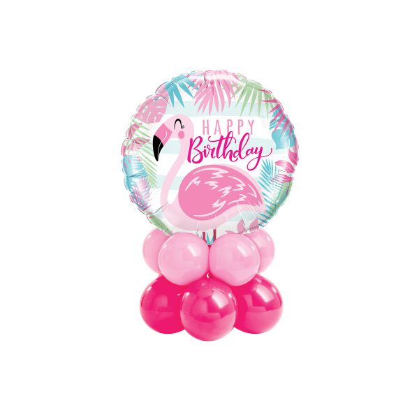 Birthday Pink Flamingo Mini