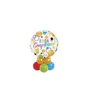 Buon Compleanno Glitter Dots Mini