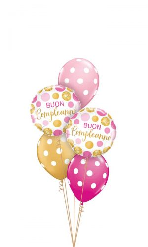 029-Buon-Compleanno-Pink-&-Gold-Dots-Classic