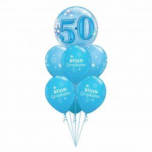 Blue Sparkle Bubble Luxury