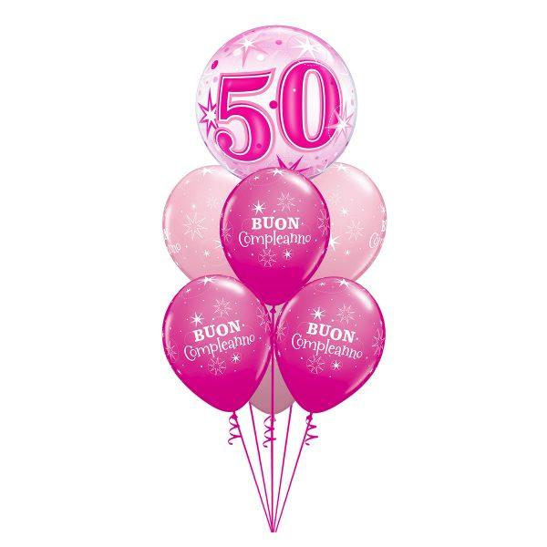 Pink Sparkle Bubble Luxury