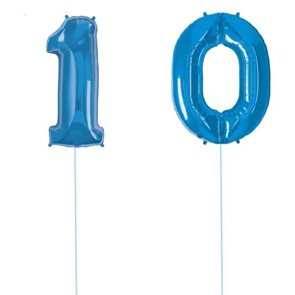 Super Number 10 Helium Blu