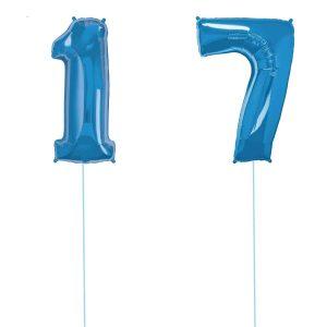 Super Number 17 Helium Blu
