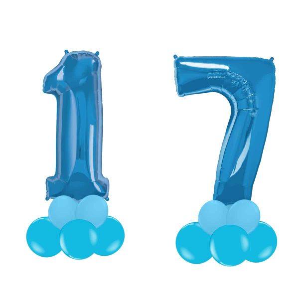 Super Number 17  Blu