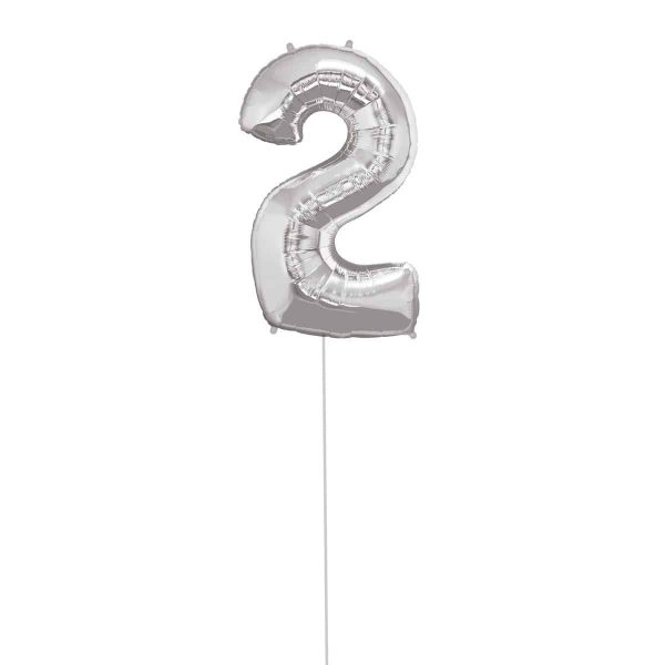 Super Number 2 Helium Silver