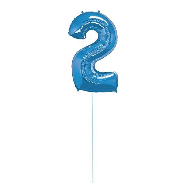 Super Number 2 Helium Blu