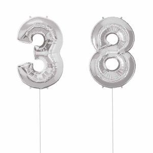 Super Number 38 Helium Silver