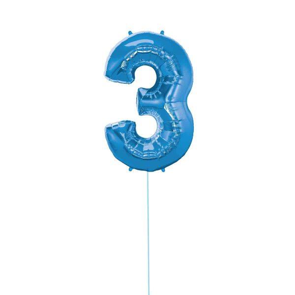 Super Number 3 Helium Blu