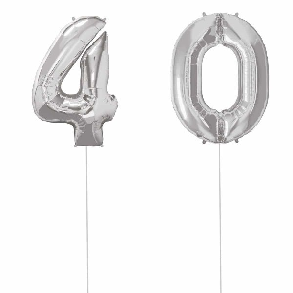 Super Number 40 Helium Silver