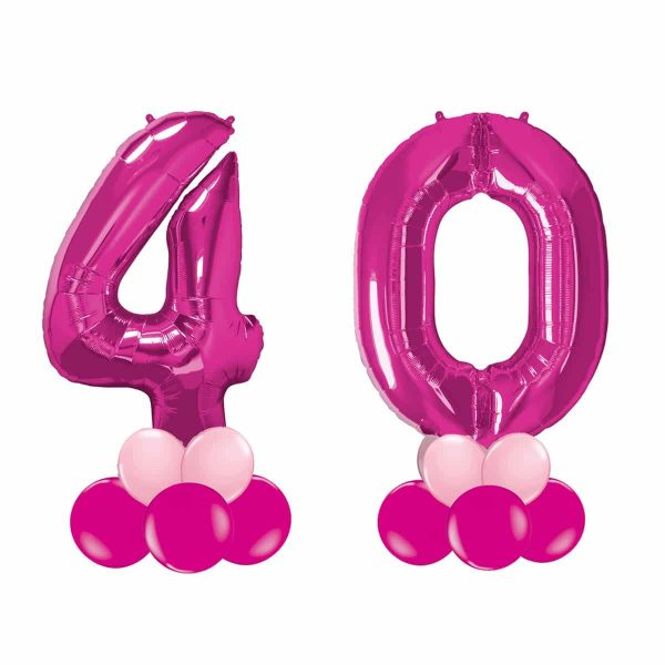 Super Number 40  Rosa