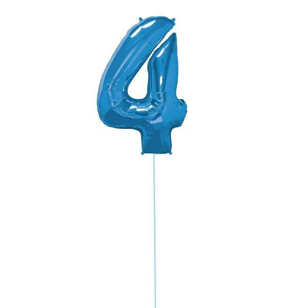 Super Number 4 Helium Blu